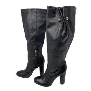 Tory Burch Heeled Knee High Boots Size 6.5